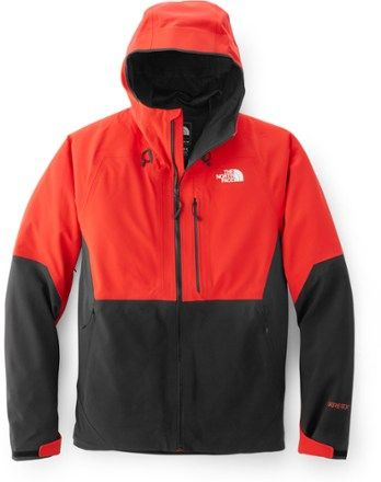 1139261c0484 The North Face Men s Apex Flex GTX 2.0 Rain Jacket High Risk Red Tnf Black  XXL