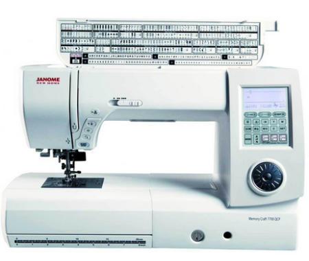 Janome MC 7700QCP Detailed Review Sewing machine, Janome