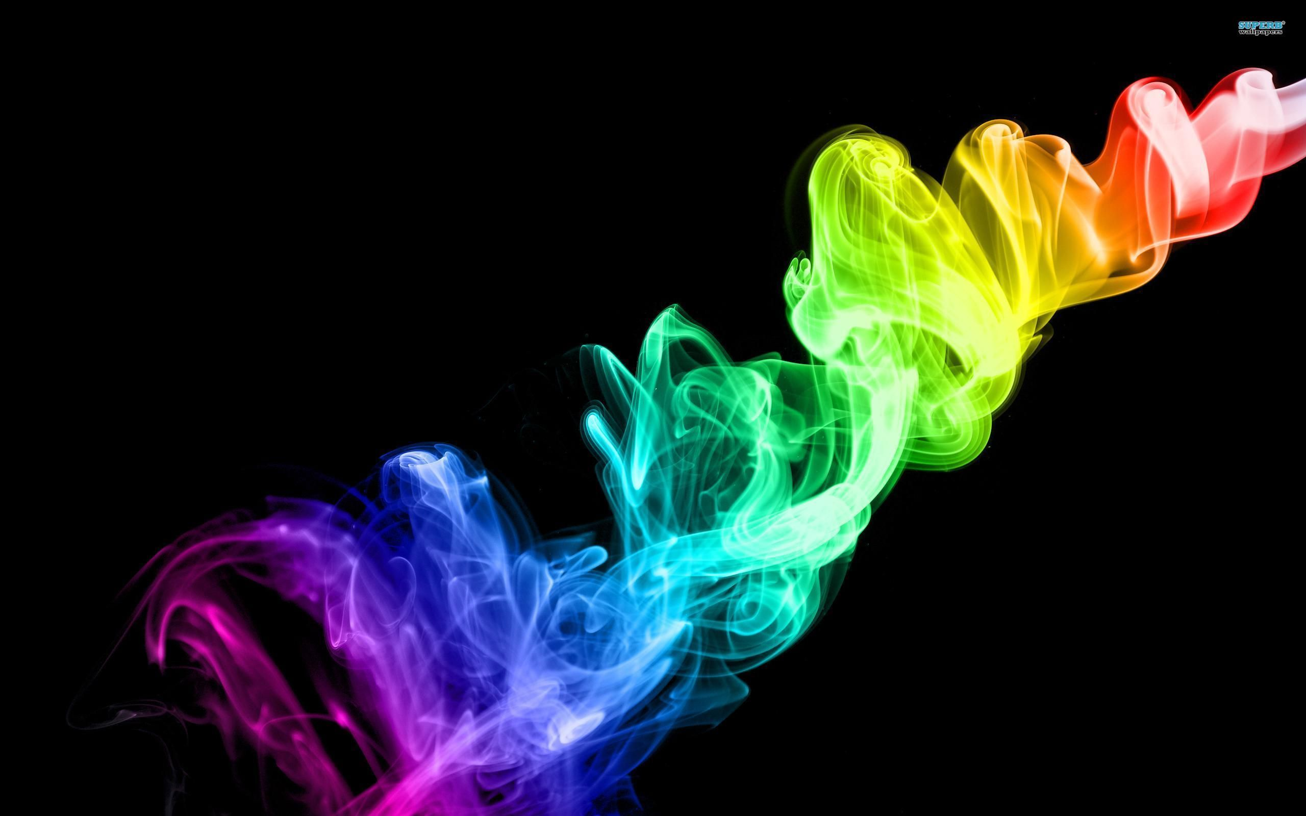 Gorgeous Colorful Photography Smoke Wallpapers Wallpaper