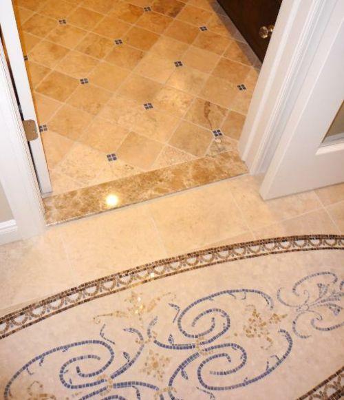Moderne Badezimmerboden Ideen   Fliesenmuster