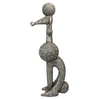 Design Toscano Caniche Chien Paris Poodle Dog Statue
