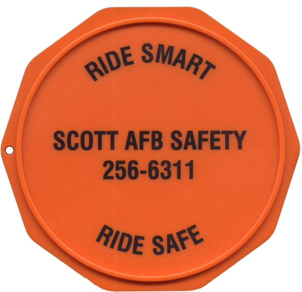 This is a Custom Imprinted Motorcycle Coaster®. This order