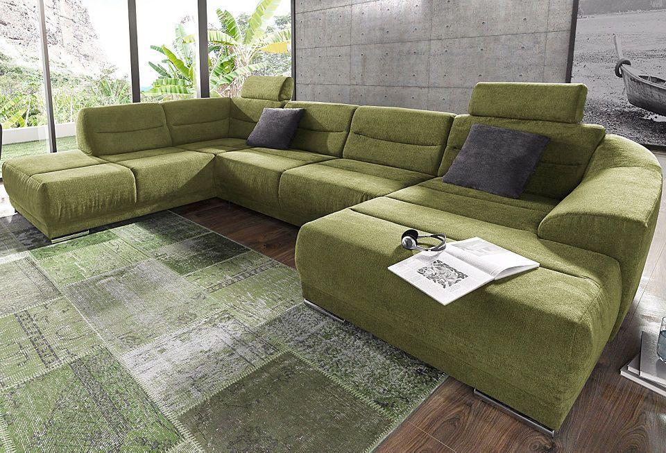 sitmore Wohnlandschaft, wahlweise mit Bettfunktion Jetzt bestellen - wohnzimmer sofa braun