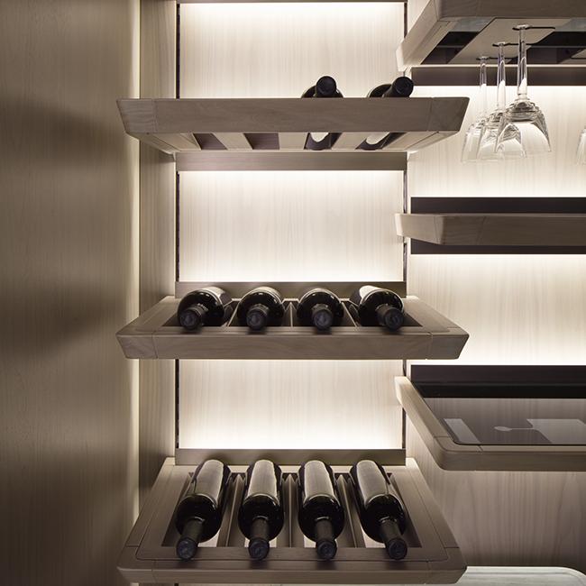 GK.03 Kitchens Wine house, Wine room