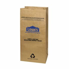 New from Lowe's!  A great, environmentally friendly alternative to large plastic trash bags.  Garbax 5-Count 30-Gallon Lawn & Leaf Trash Bags