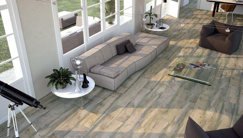 Pavimentos cer micos imitaci n madera con combinaciones - Pavimentos ceramicos interiores ...