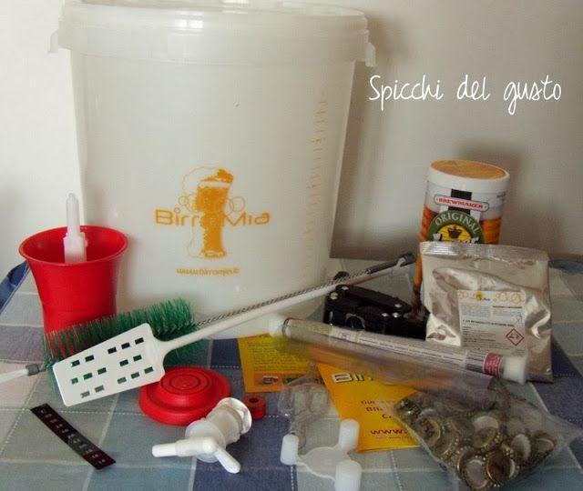 """Spicchi del gusto: Un regalo speciale il kit """"Birramia"""" per fare la Birra in casa"""