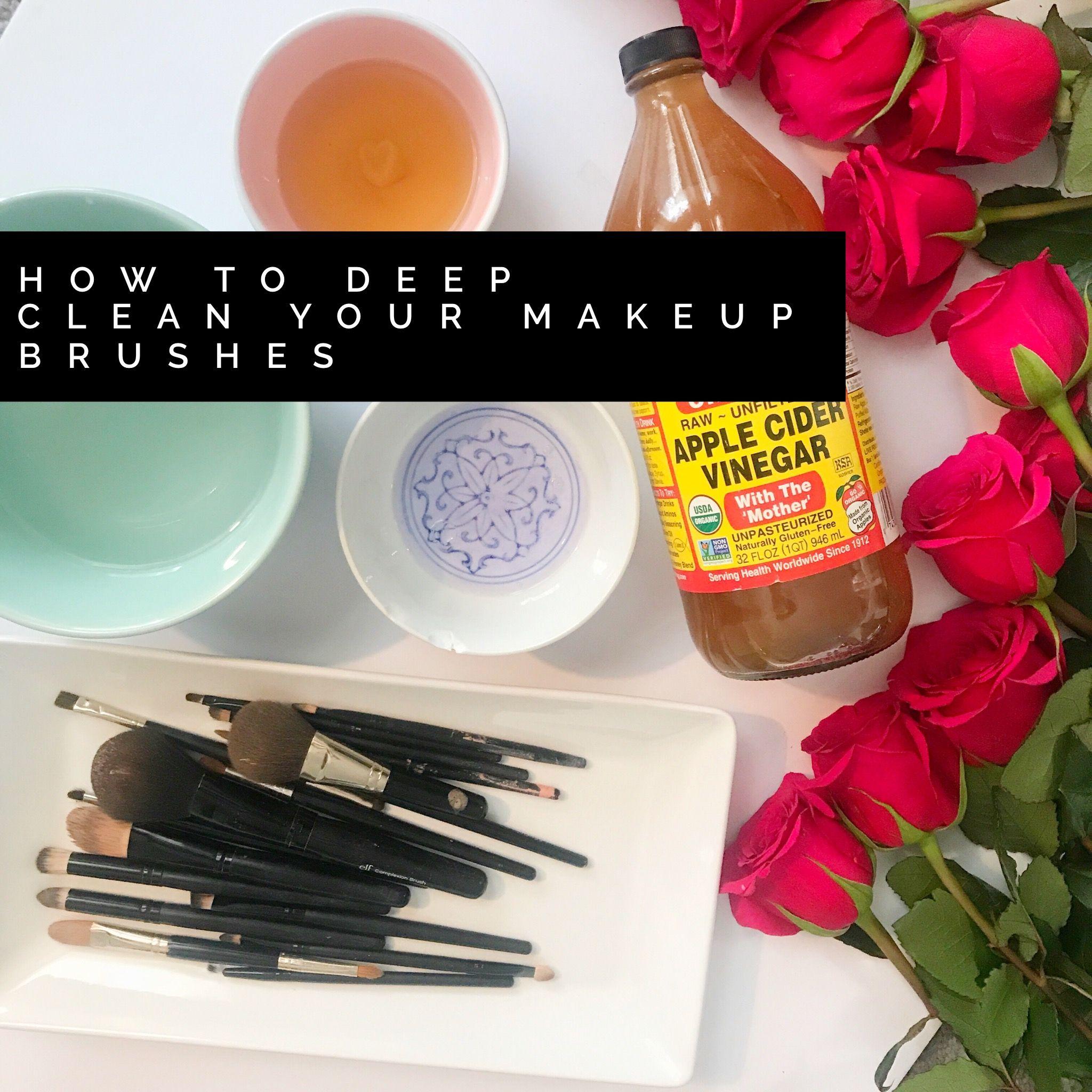 Blog How to clean makeup brushes, Makeup yourself, Makeup