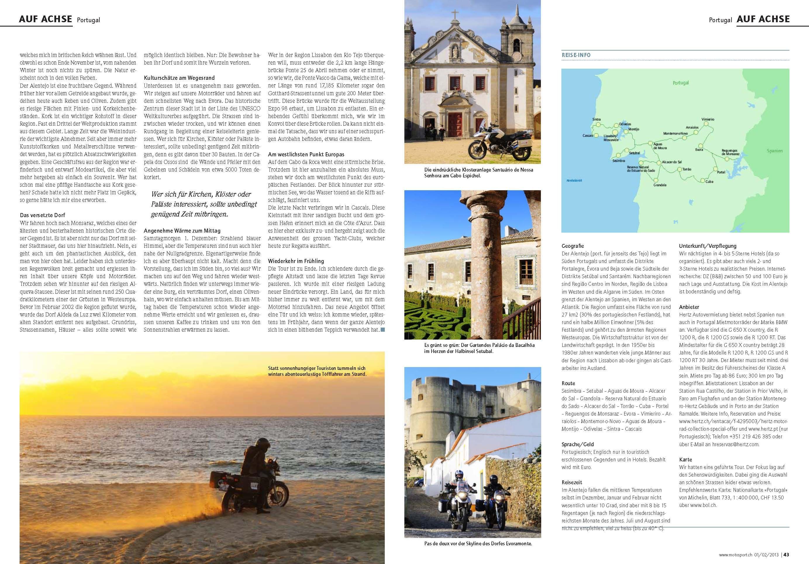 Auf Achse Portugal Dem Winter Davon Gefahren Text Monika