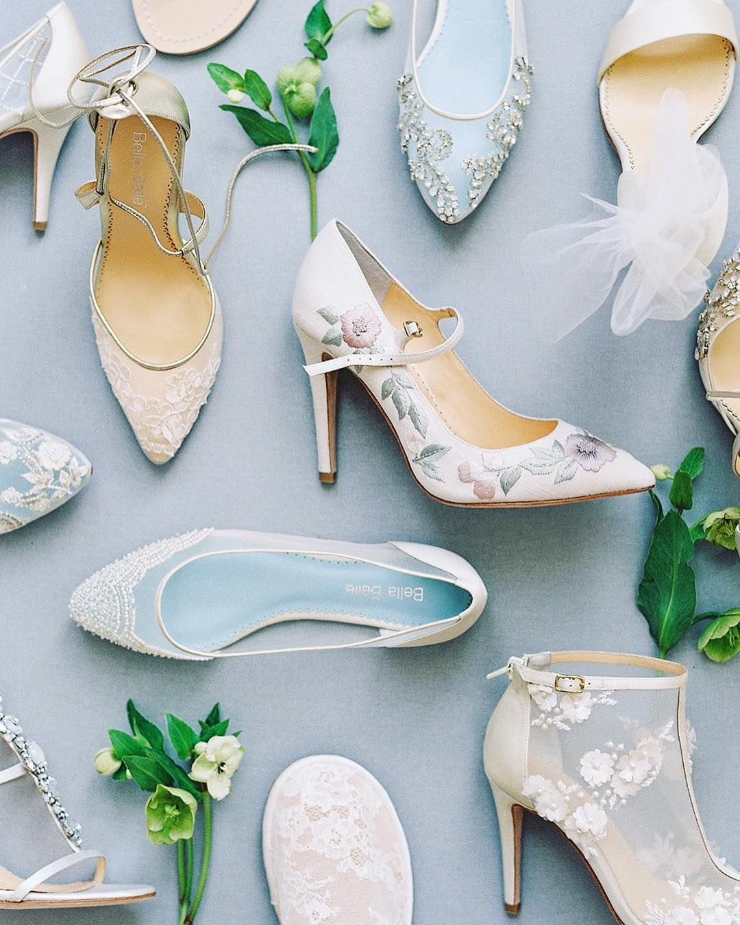 Utterly romantic bridal shoe collection from Bella Belle! Shop them ...