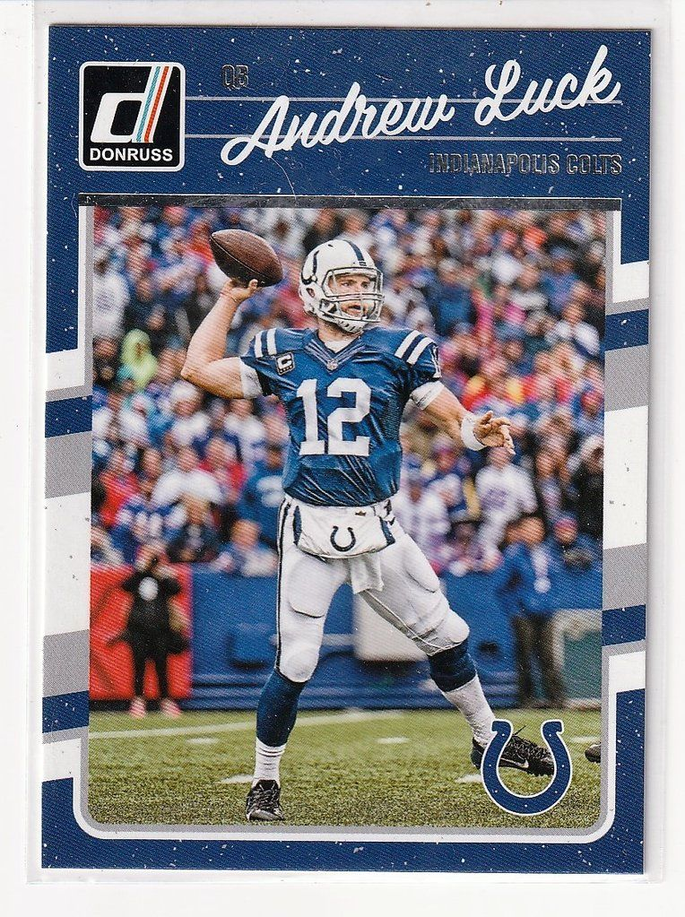 Football Sports Cards Andrew Luck Andrew luck, Sports