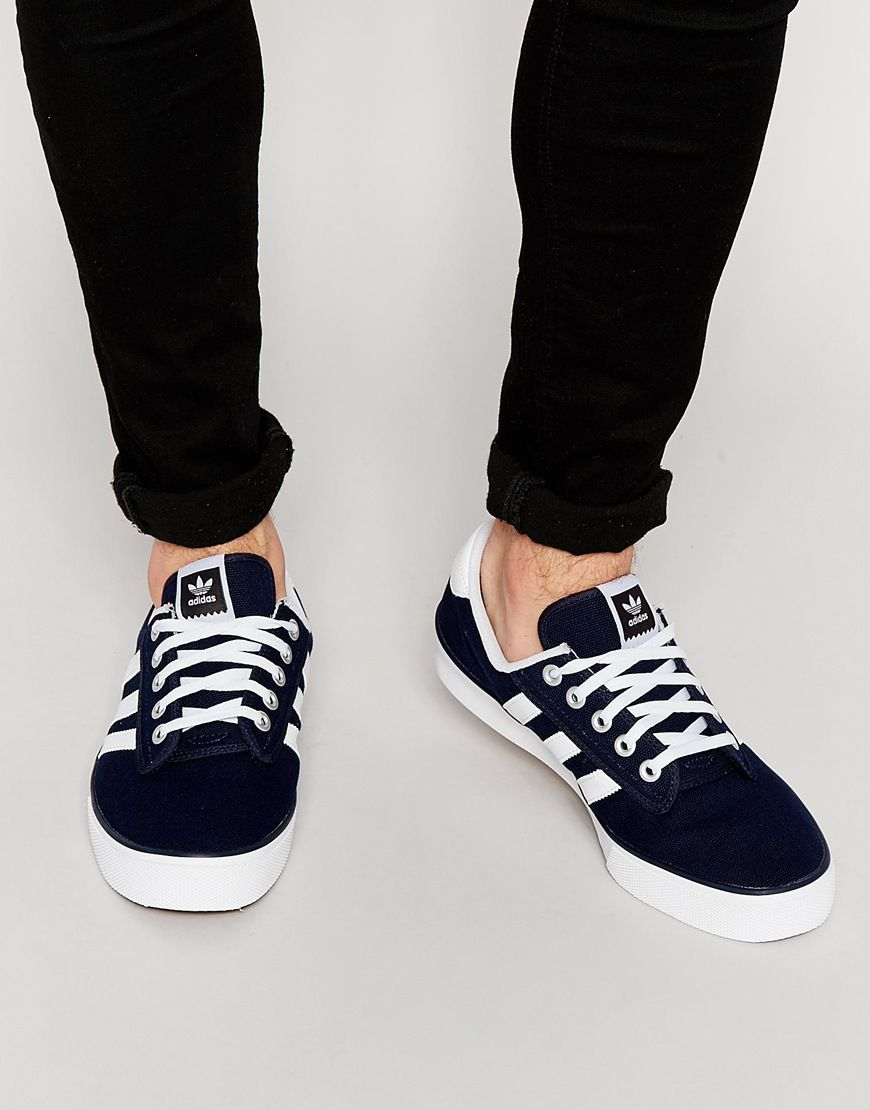 f626fc4c30acd adidas Originals Kiel Canvas Trainers | Adidas in 2019 | Sneakers ...