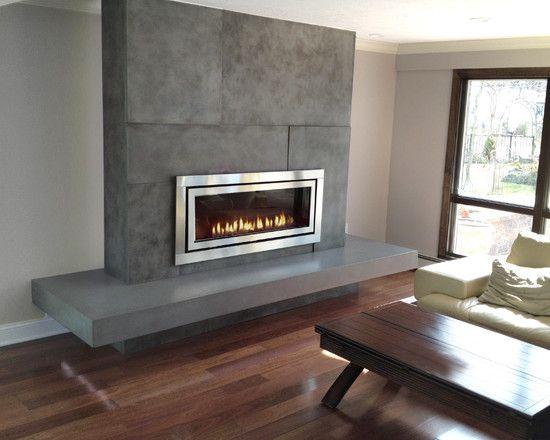 Fireplace Idea Gallery - Fireplace  Fireplace Mantel Photos
