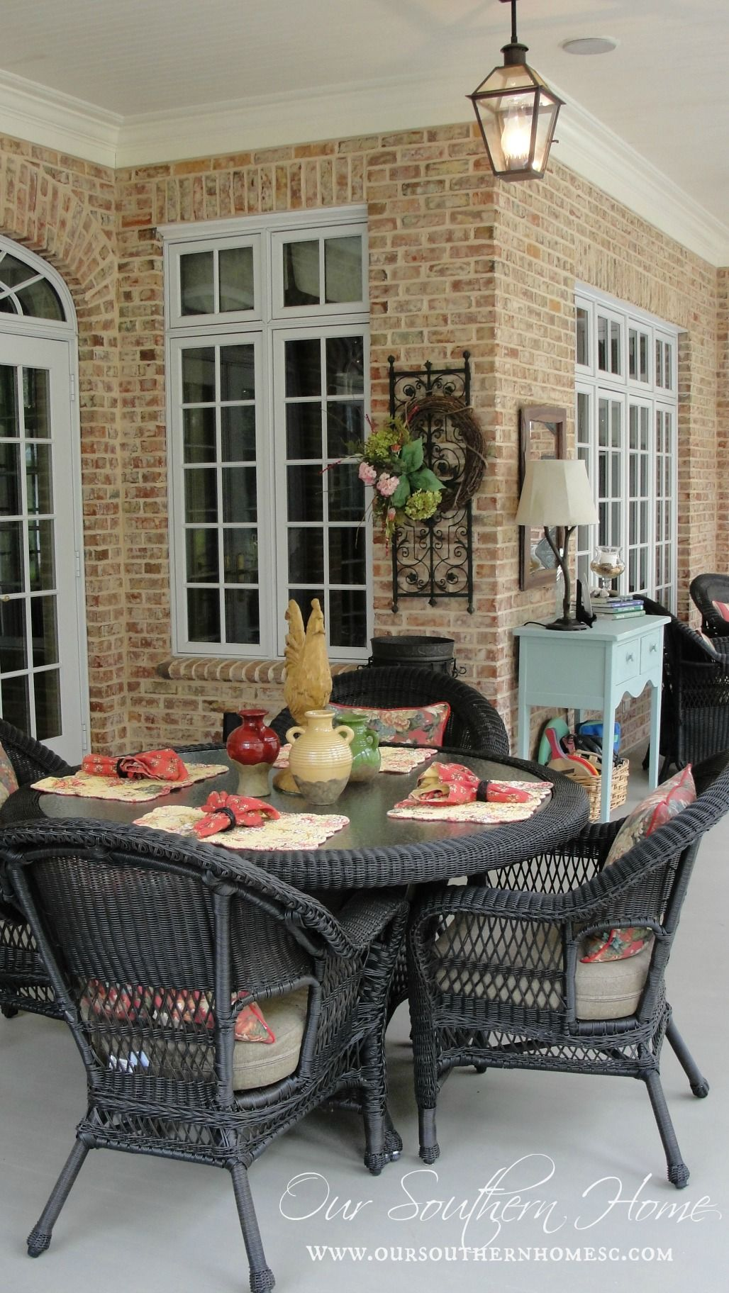 Living Room Southern Home Decorating 1000 images about patio sets outdoor decor on pinterest flyers and target canada