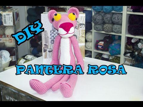 DIY. PANTERA ROSA A CROCHET (PARTE 1) | Hazlo tú mismo/Artesanías ...
