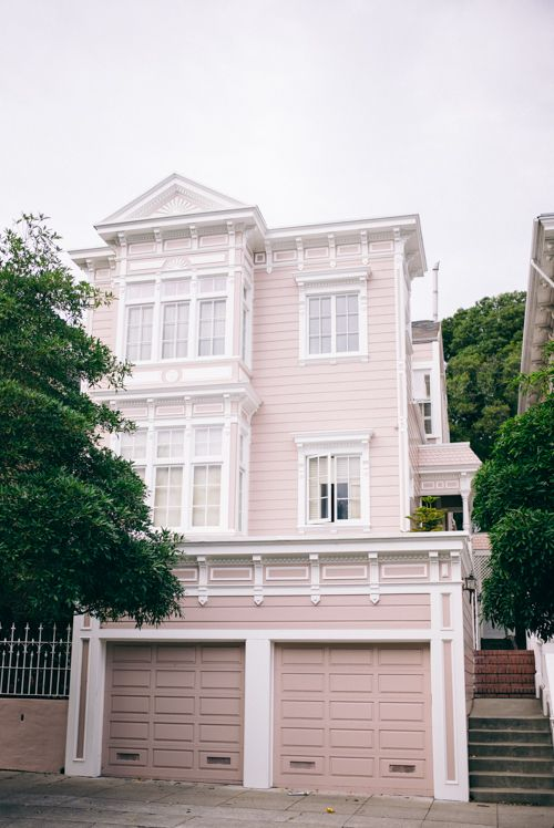 Bvlgari Sf Pink House Exterior Exterior House Colors House