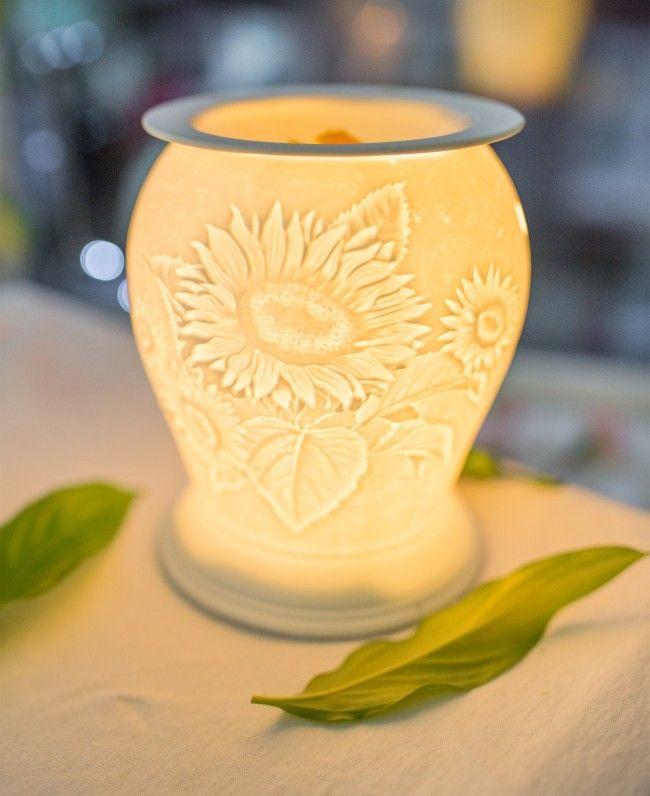 Cello Porcelain Electric Melt Burner - Summer Time  Electric wax melt burner, Candle