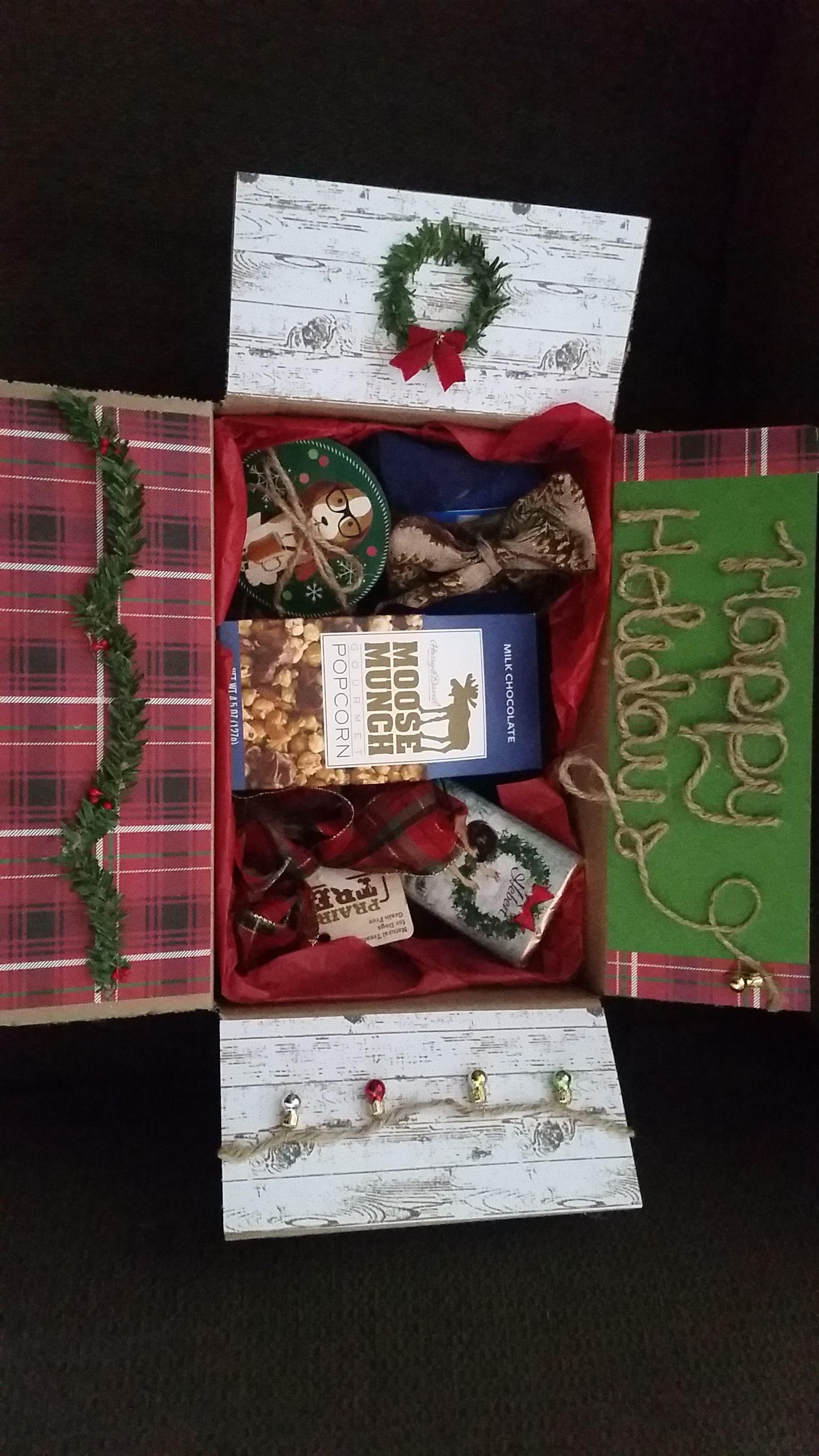 christmas gift box for long distance friendships and relationships christmas gift box friendship christmas