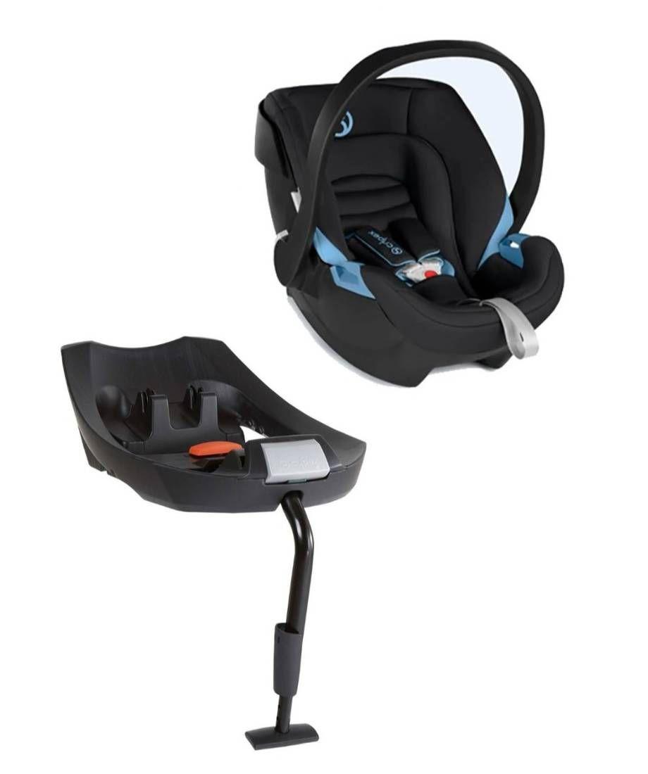 مقعد سيارة آتون مريح مع قاعدة أيزوفيكس أسود Baby Car Seats Car Seats Baby Car