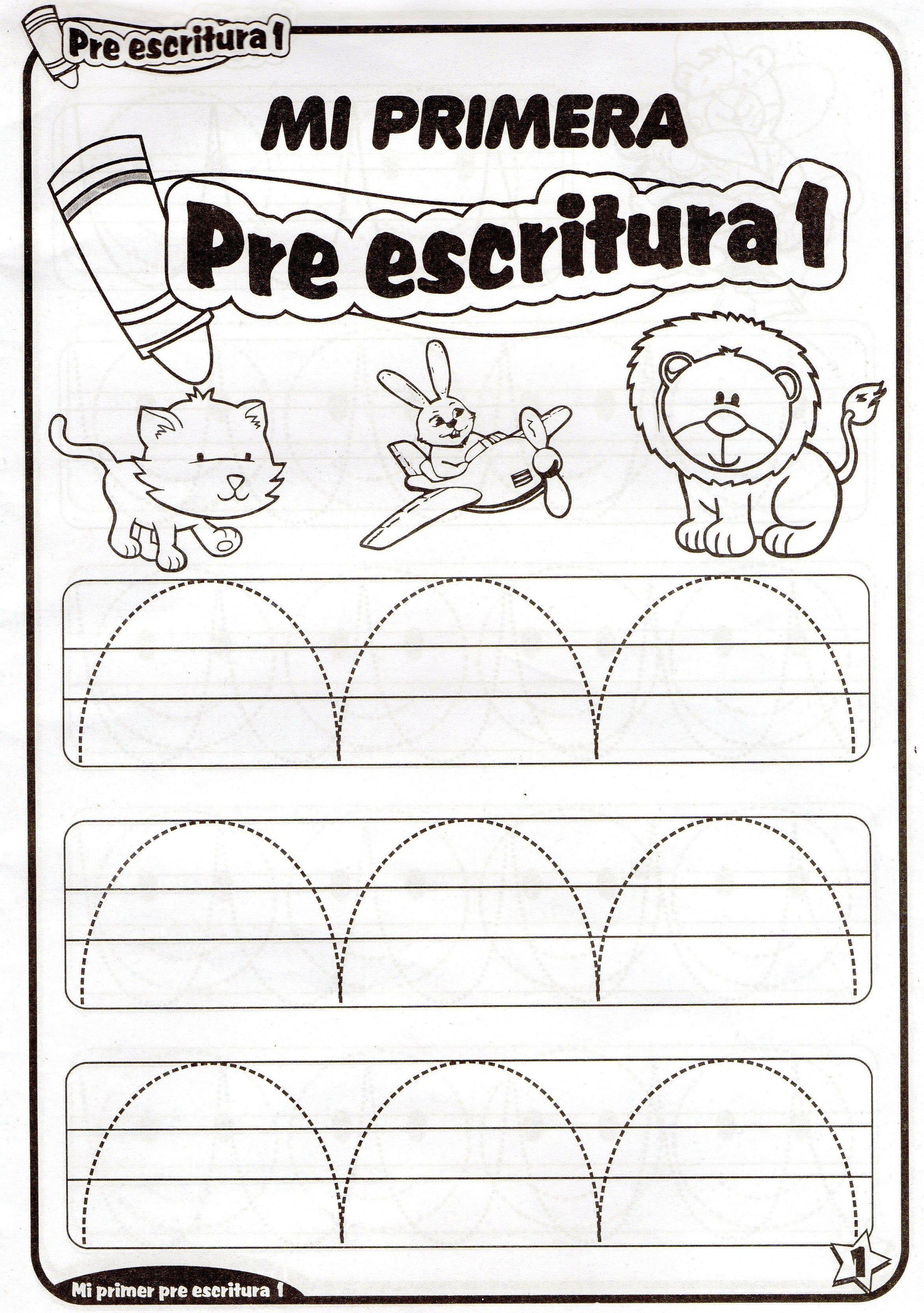 Fichas De Preescritura Imprimibles Para Niños De 4 Años Ejercicios De Prescritura Para Niños Y Niñas D Niños De Preescolar Imprimibles Niños Tareas Para Niños