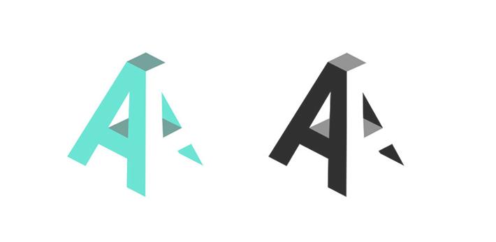 Create My Personal Logo Aa Ali Aziz Check Http Aliaziz Design Initials Logo Design Monogram Logo Design Property Logo Design