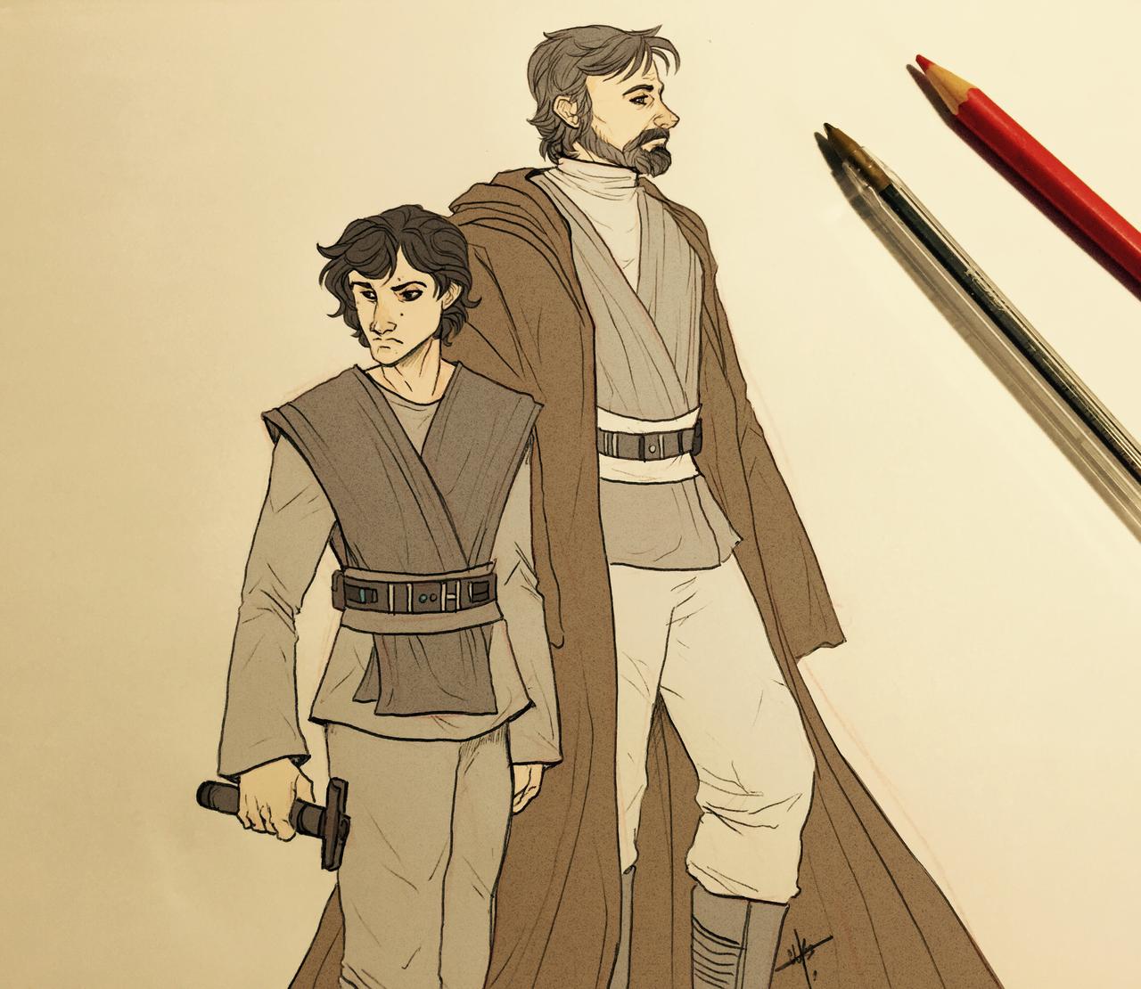 Luke Master Jedi Skywalker Deviantart
