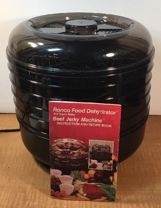 Ronco 5 Tray Beef Jerky Food Dehydrator Electric Food Dryer