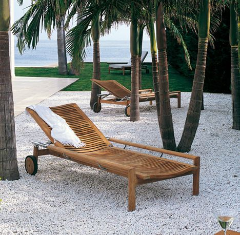 Patio Furniture from B&B Italia - new modern Springtime patio ...