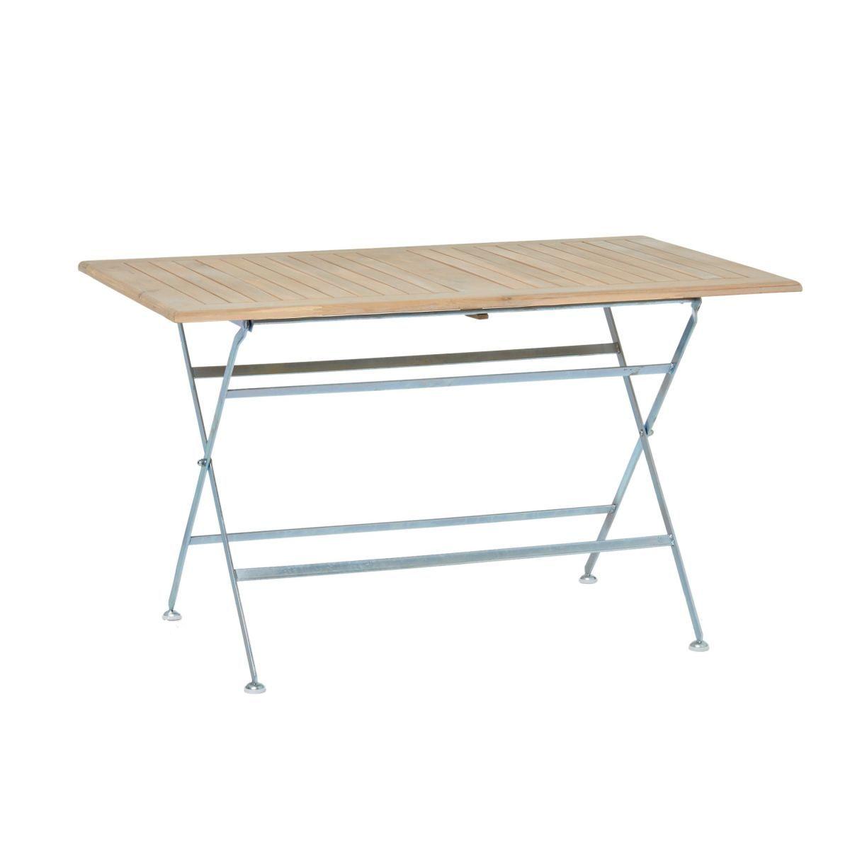 Gartentisch Redford, Metall, Holz Jetzt bestellen unter: https ...