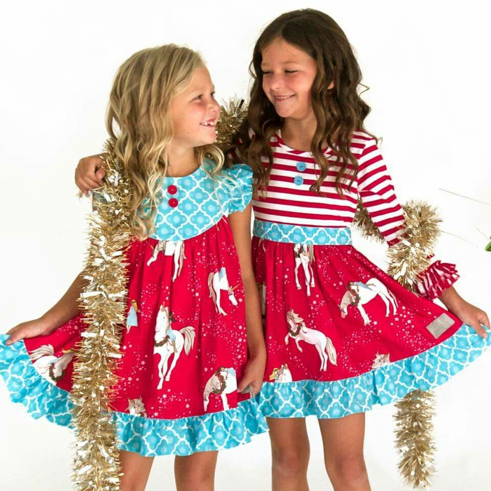 0eff35556d3d Christmas Starlight Unicorns from Eleanor Rose   My sewing   Rose ...