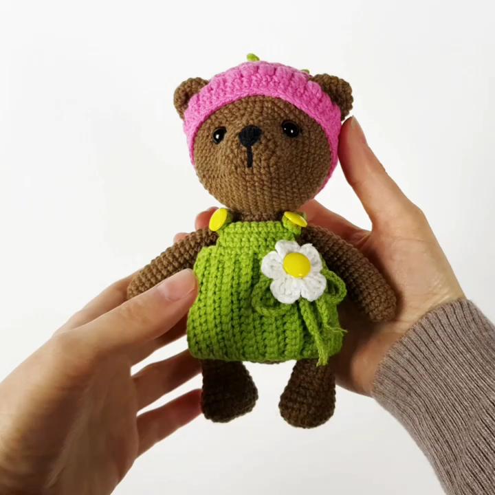 Crochet Bear #crochetbear