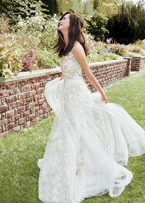 Tendance Robe du mariée 2017/2018 - 3D Floral Wedding - Dresses ...