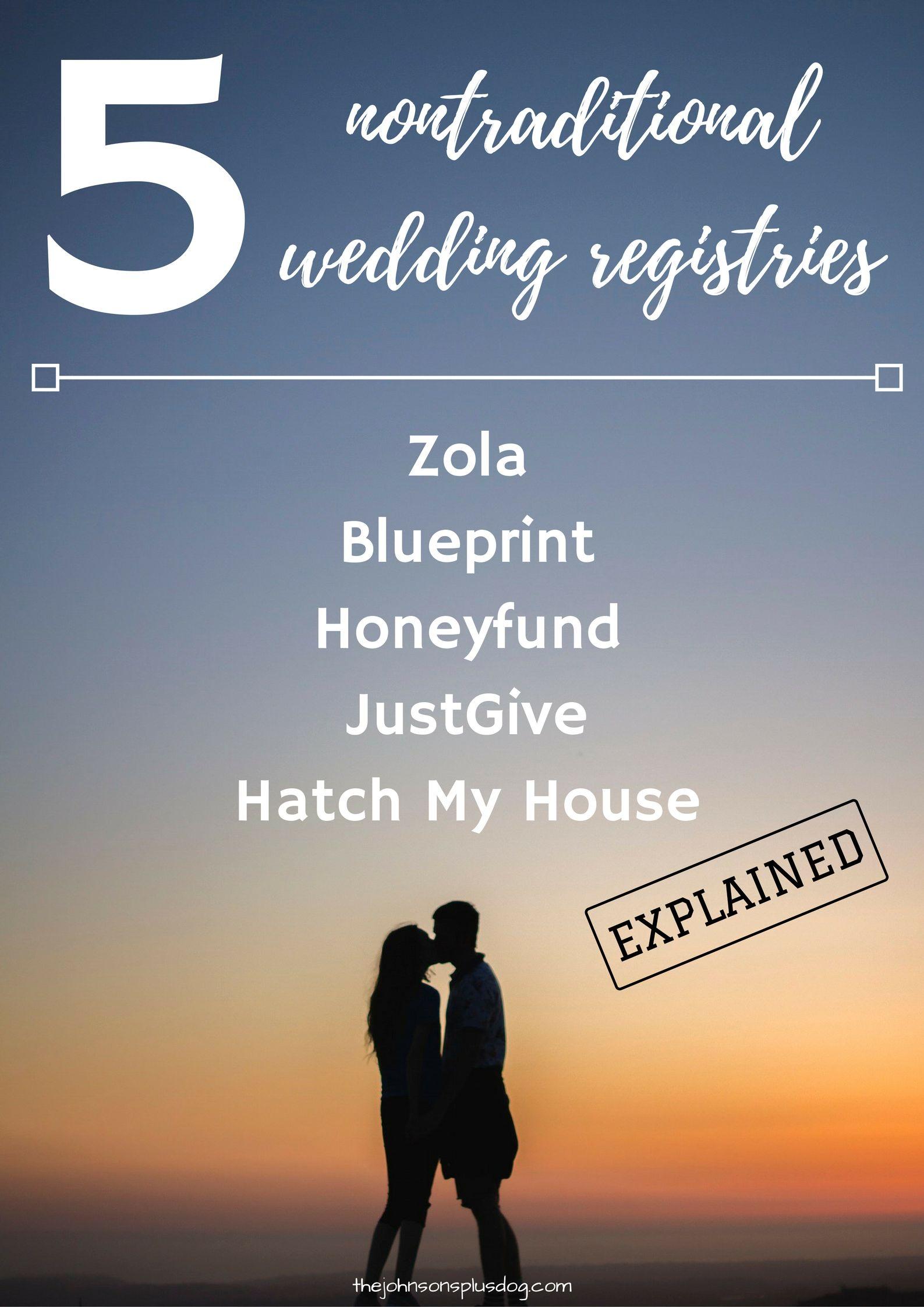 5 nontraditional wedding registries 5 nontraditional wedding registries alternative wedding registry zola blueprint honeyfund justgive malvernweather Images