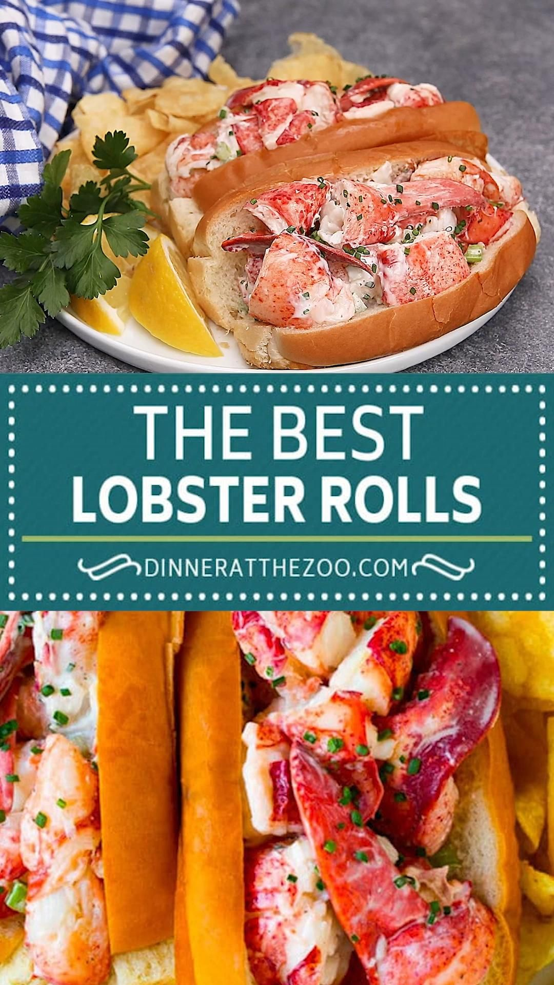 The best homemade lobster rolls, they're quick and easy to make and look so impressive!
