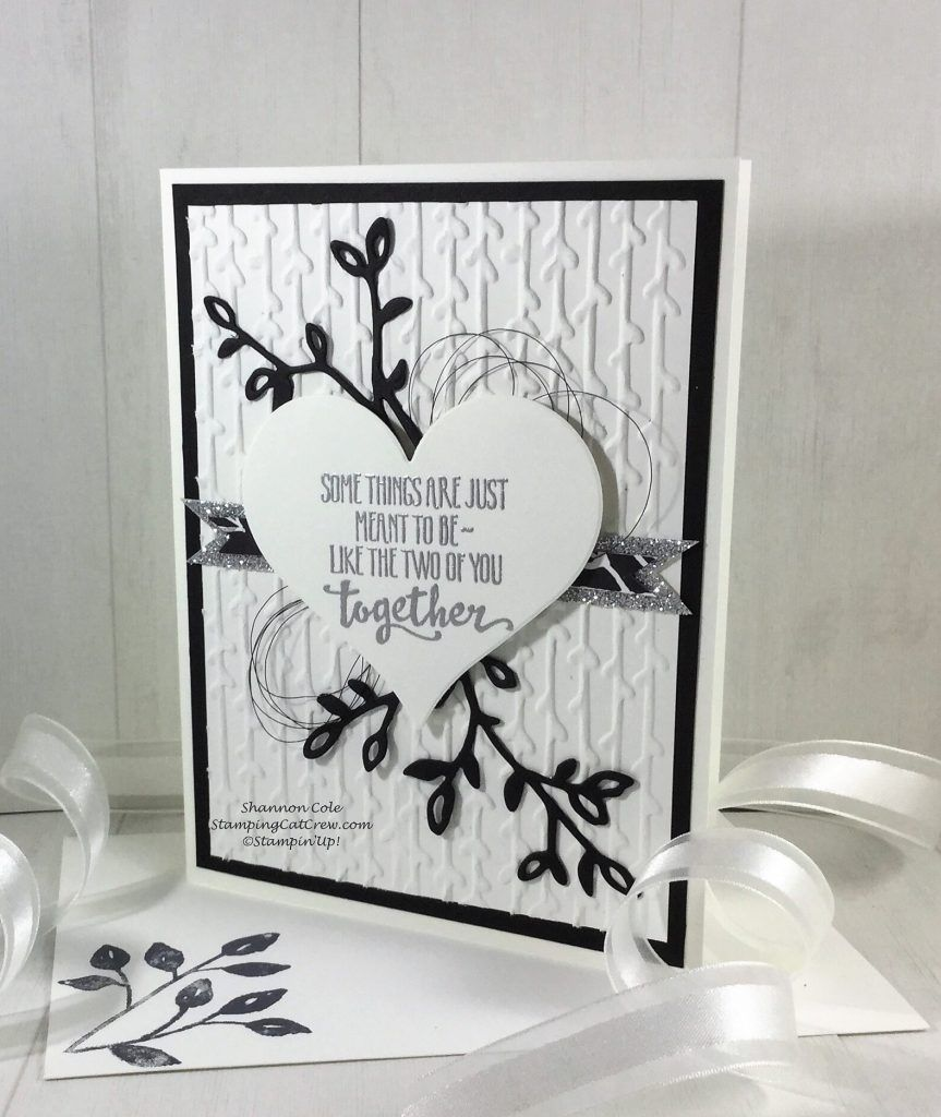 Stampin Up 2018 Occasions Petal Palette Wedding Anniversary