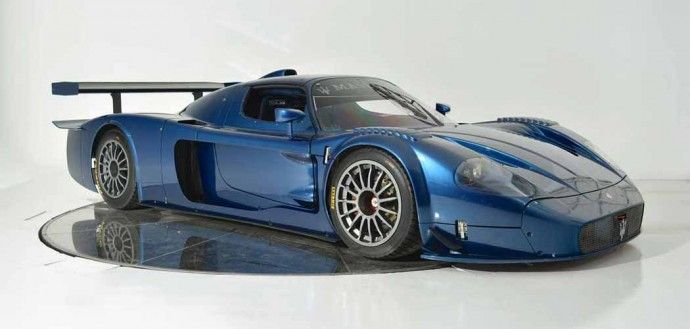 The Maserati MC12 Corsa was built for the track, as you can plainly see. It was restricted to track use only and developed directly from the MC12 GT1, which won the 2005 FIA GT Manufacturers Cup