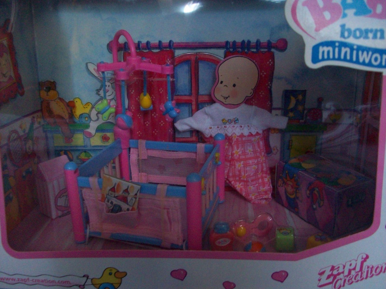 mini Baby Born 2 neue seltene Sets - Küche + Spielzimmer m ...