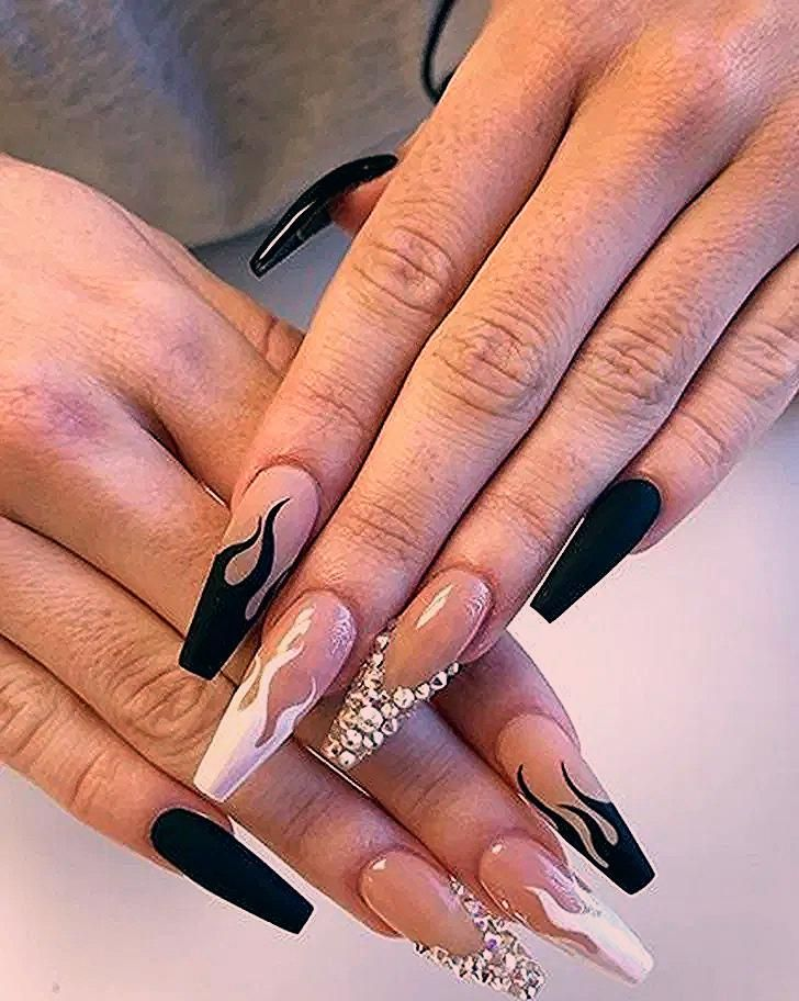 Photo of 19 Top Awesome Coffin Nails Design You Must Try 4