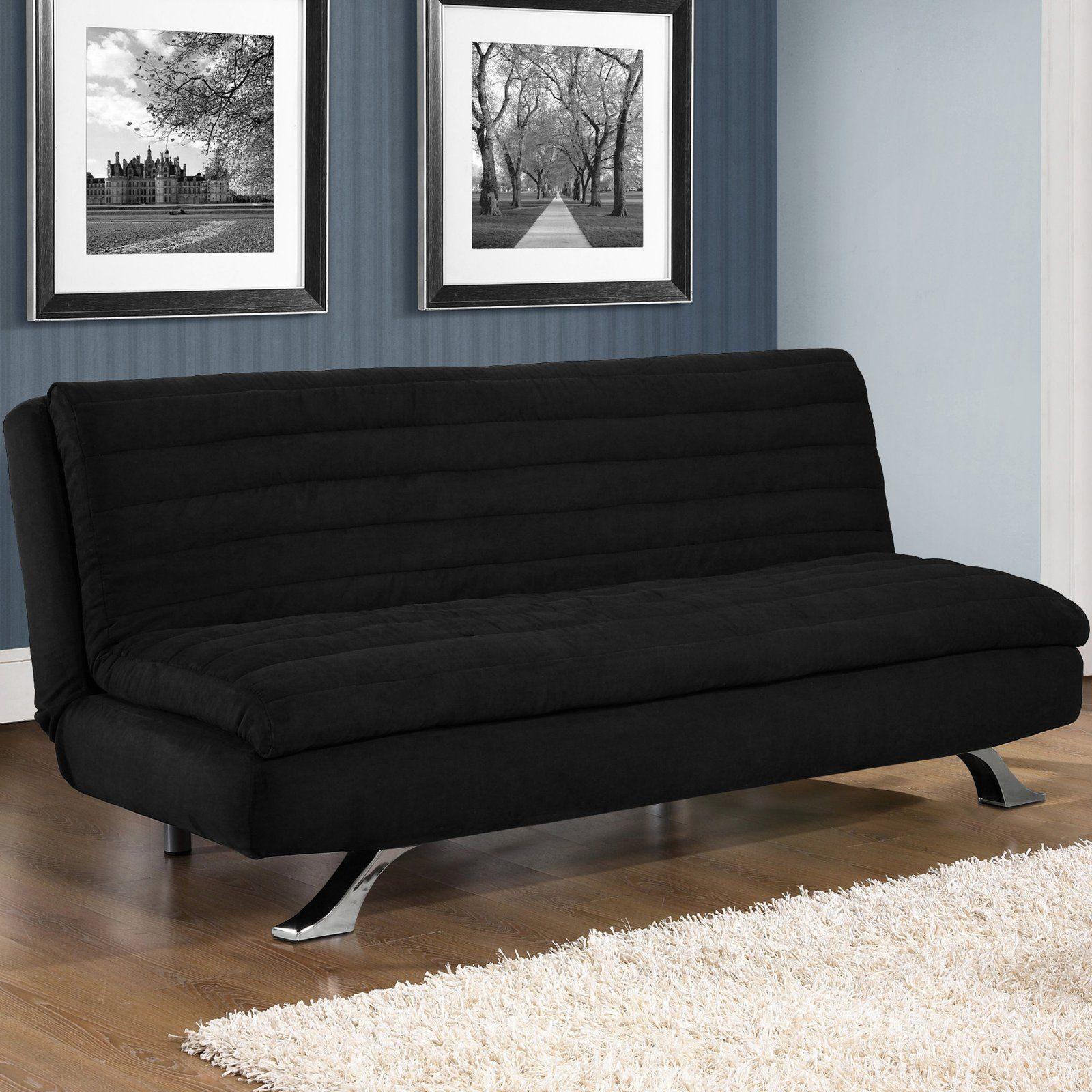 in medina convertible sofa black at the foundary products