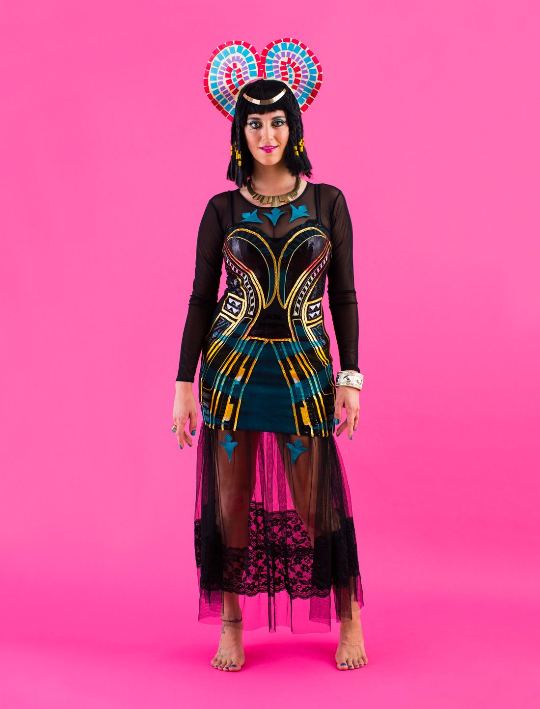Diy All Of Katy Perrys Dark Horse Video Costumes For -9706