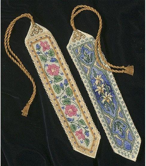 Punts de llibre...  --Dimensions Gold Collection Bookmarks Cntd X-Stitch Kit