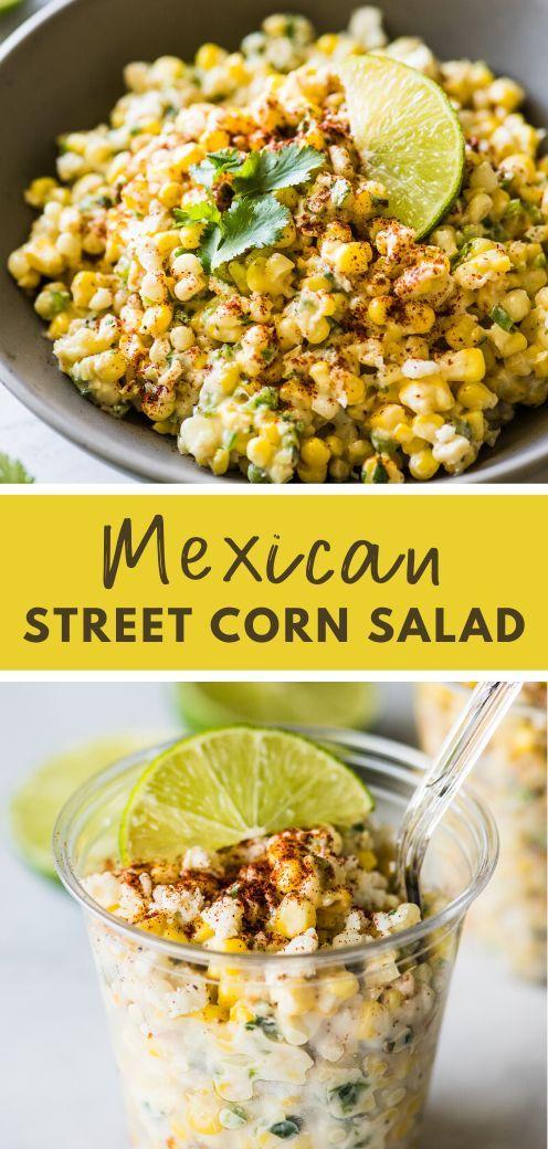 Esquites: Mexican Street Corn Cups | Isabel Eats