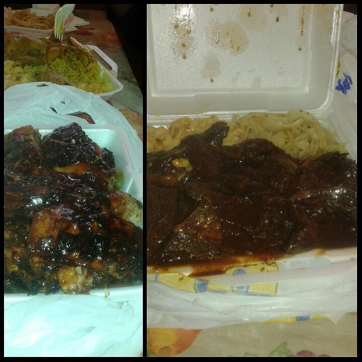 My Boo @ss_cocokisses n Me had a amazing lunch date Jamaican D\'s in ...