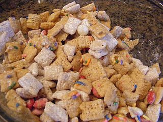 valentine chex mix 4 12 cups rice chex cereal 12 cup