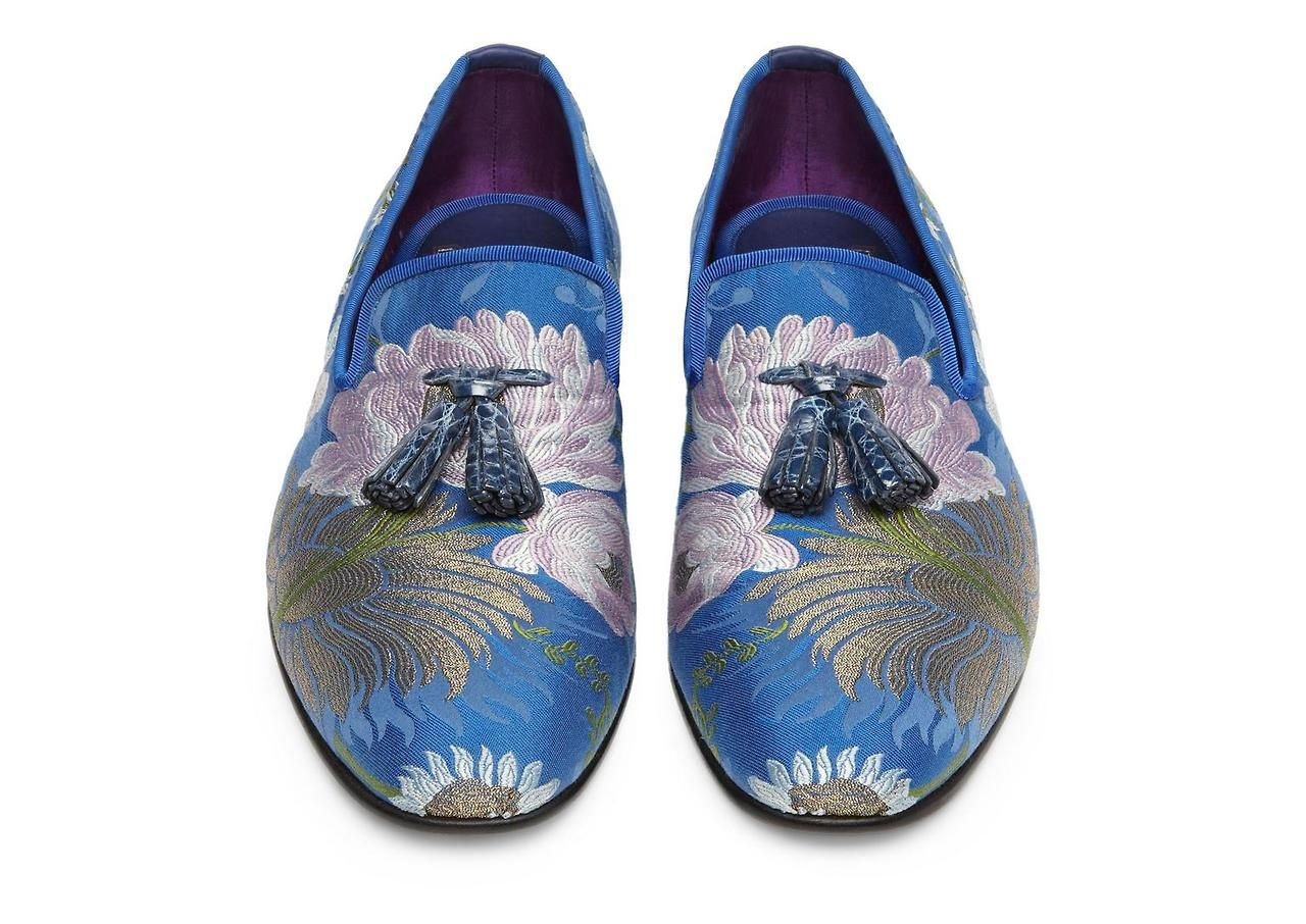 Zapatos azules Akè para hombre q6F8JoC