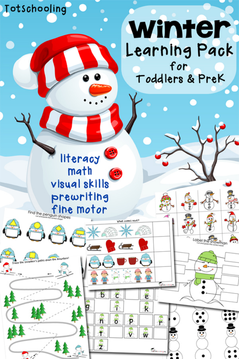 Snow printable pack | Winter | Pinterest | Snow, Winter and Activities