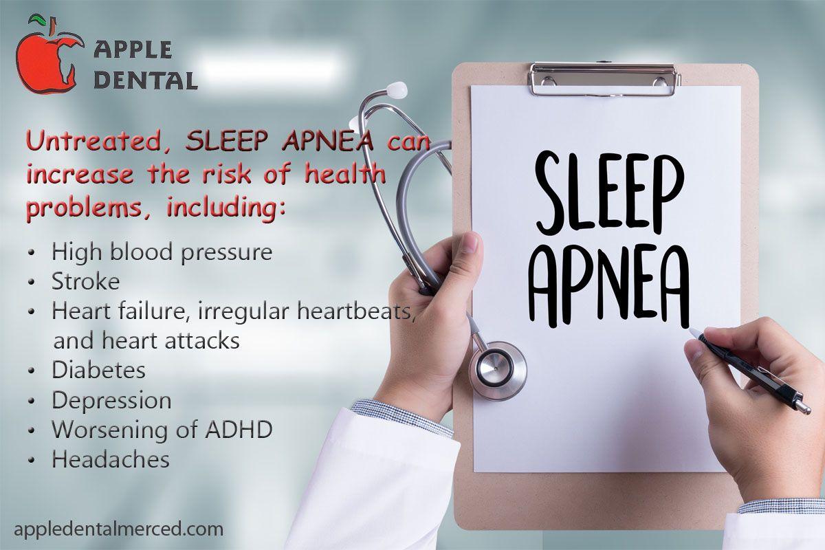 Sleep apnea is a potentially serious sleep disorder in