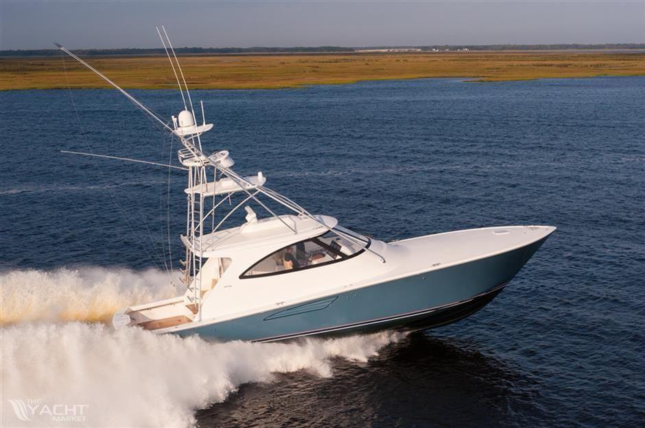 Viking 52 Sport Tower Sportsfishing boat Viking