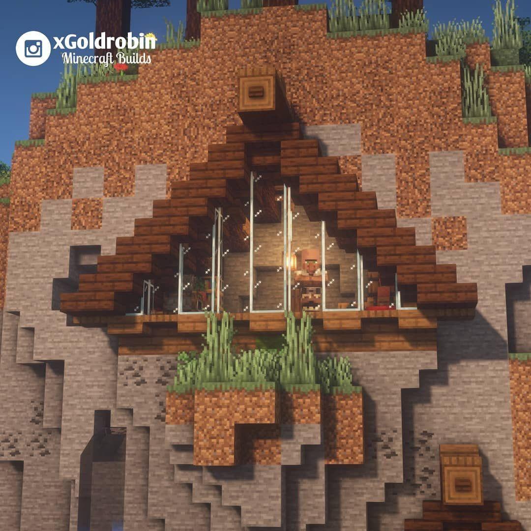Goldrobin Minecraft Builder On Instagram Triangular House In A