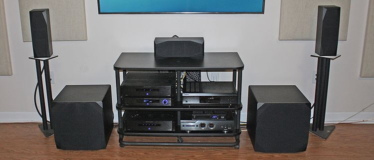 Emotiva Basx Home Theater Audio System Review Hometheaterhifi Com Surround Sound Speakers Audio System Home